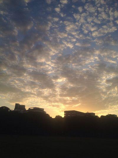 Today sunset Nature Cloud - Sky Bangkok Thailand.