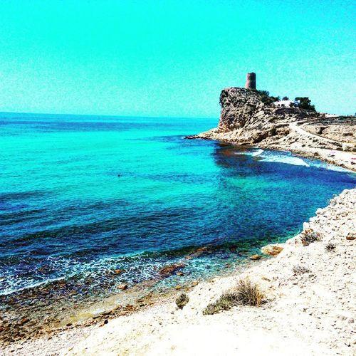 Calas Del Mediterraneo Perdidos Playa Sol Sun Beach Buceo Fauna Marina LOL Nice Cute Descanso Verano2015 Relax Love Cervecitas Derutas Faro Torreta