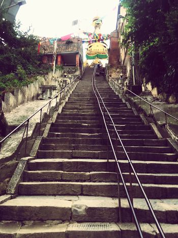 Temple Monkeytemple Kathmandu