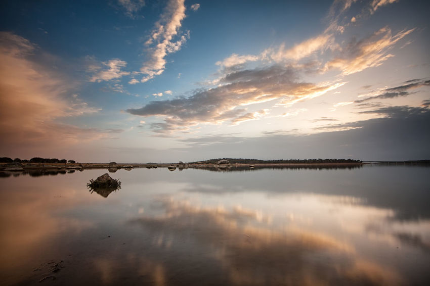 Beauty In Nature Cloud - Sky Day Idyllic Lake Nature No People Outdoors Reflection Scenics Sky Sunset Tranquil Scene Tranquility Water Waterfront