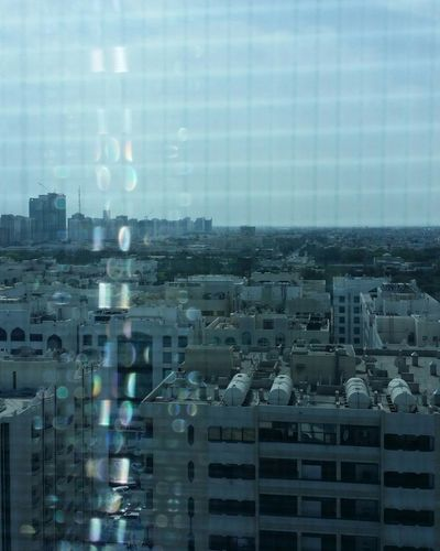 Uae,abudhabi behind Fly Screen Light And Shadow Sun Rays Reflections Colorful Eye4photography