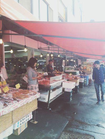 Taking Photos Enjoying Life Walking Around Market