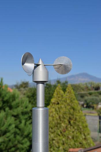 Close-up of weather vane