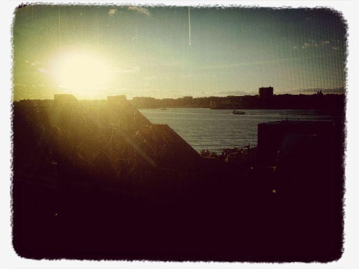 Photo Plus Expo Bash Husdson River sunset port authority ferry