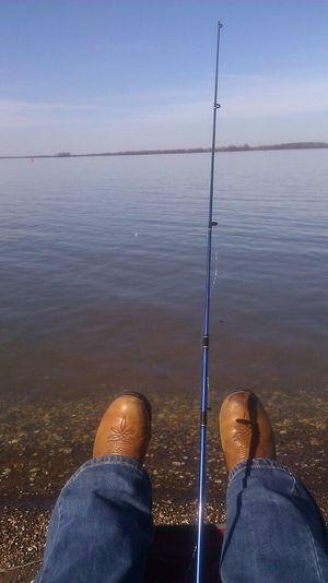 Finally got my hook in the water :)