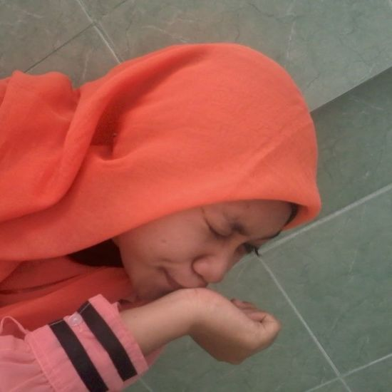Gaje Me Jilbab Orange Narsis justshare instapic instalike