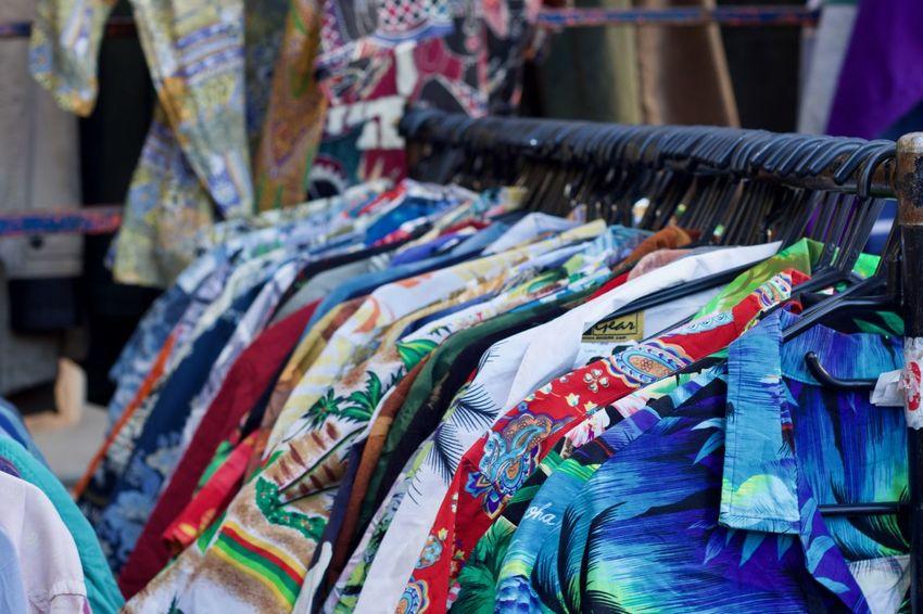 A collection of Hawaiian shirt Aloha Shirt Colours Fashion Hawaii Hawaiian Shirt MENS HAWAIIAN SHIRT Portobello Market Shirts Shirts Of EyeEm Textile Industry Textured  Clothing colour of life Fashion Photography For Sale Holiday Shirt Holiday Shirts Multi Colored Multi Coloured Retail  Shirt Stamps Textile Textile Industry Variation