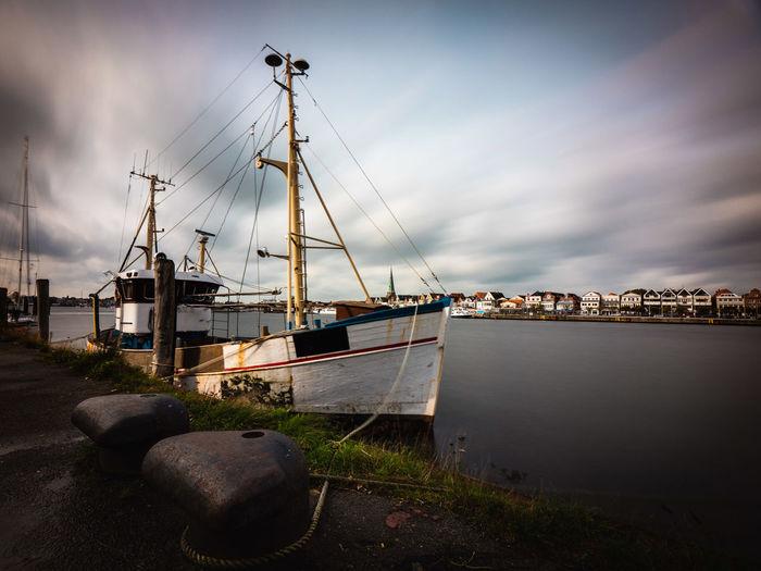 Fischerboot an