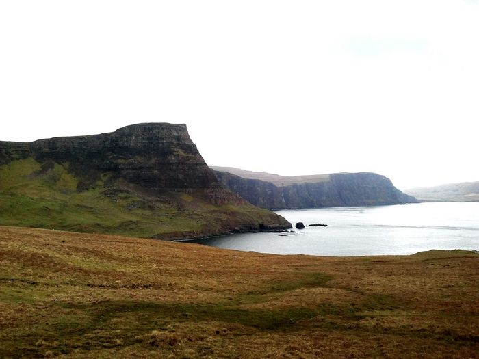 Sea Beach Water Nature Outdoors Mountain Travel Destinations Landscape Vacations Adventure Scenics Sand No People Beauty In Nature Tranquility Cliff Nautical Vessel Day Archipelago EyeEm Nature Lover IsleOfSkye Isleofskye Scotland Neist Point Neistpoint Isle Of Skye