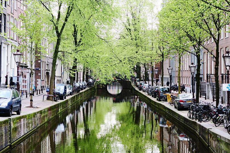 A canal in Amsterdam. First Eyeem Photo