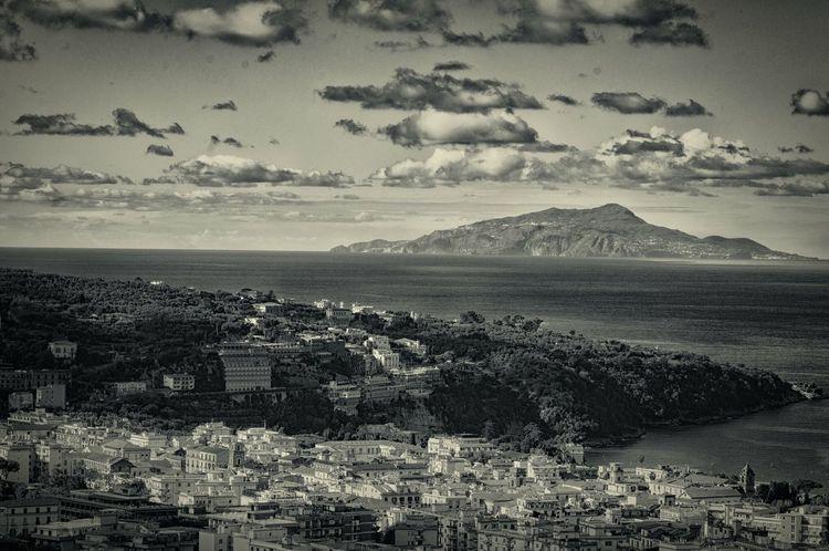 Ischia vista da Sorrento Nature Beauty In Nature Horizon Over Water Sorrento, Italia Sorrentocoast