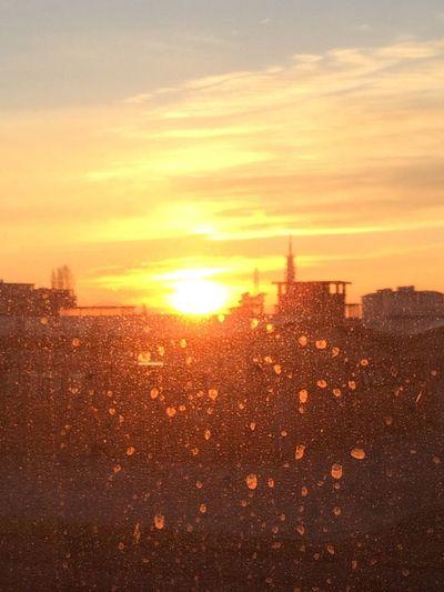 Il tramonto che si vede dalla palestra ?