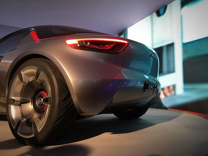 Opel Opel GT Concept Concept Concept Car Back Led Lights