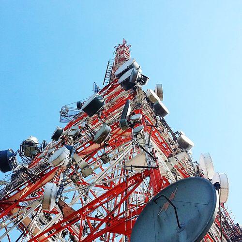 Saopaulo São Paulo Sao Paulo - Brazil Saopaulocity São Paulo, Brasil Picodojaragua Pico Do Jaragua Blue Sky Sun Antenna