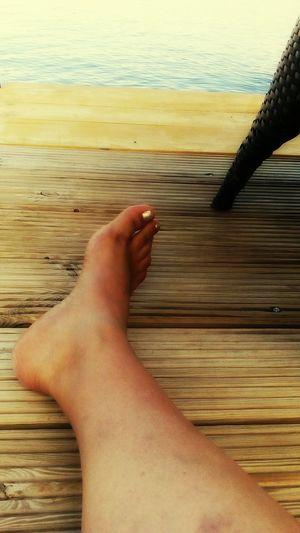 Nice Leg!! Rijeka Rijeka.Croatia❤⛵ Sea