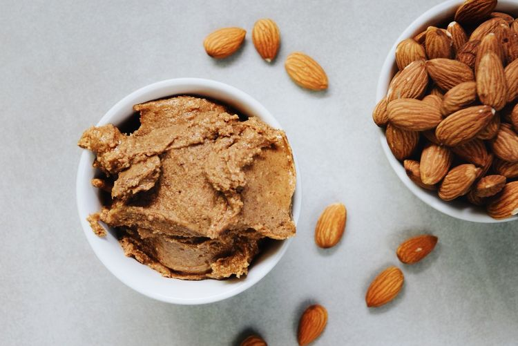 Nuts Almond Almond Butter Butter Close-up Food Healthy Eating Healthy Fats No People Nut Butter Plantbased Ready-to-eat Studio Shot Vegan Food