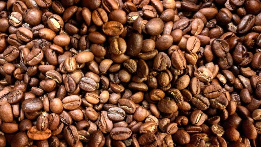 Food And Drink Full Frame Food Still Life Backgrounds Freshness Abundance Coffee Bean Brown High Angle View No People Large Group Of Objects Indoors  Close-up Healthy Eating Nature