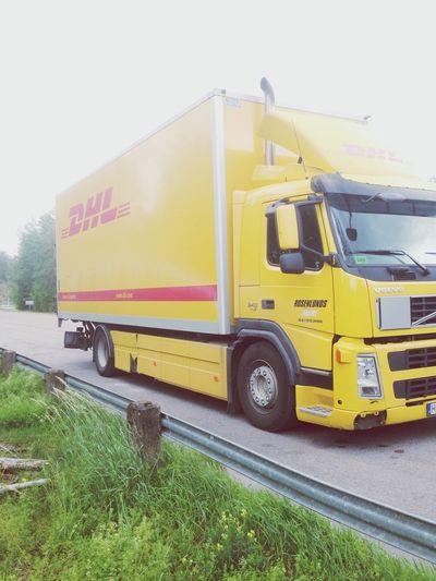 Dhl Lastbil Truckdriver Rosenlundsåkeri