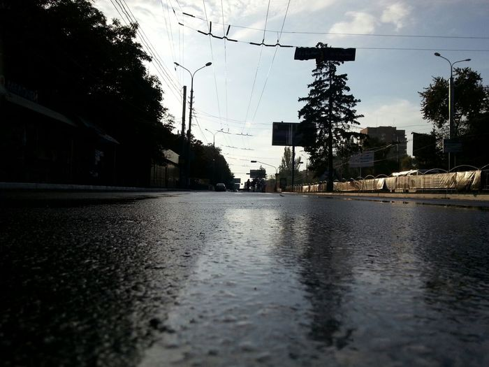 Road after the rain Streetphotography Autumn Landscape Lifestyle
