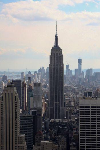 New York New York City Empire State Building Architecture Skyscraper Cityscape Travel Destinations City Life International Landmark Eye4photography  Scenics