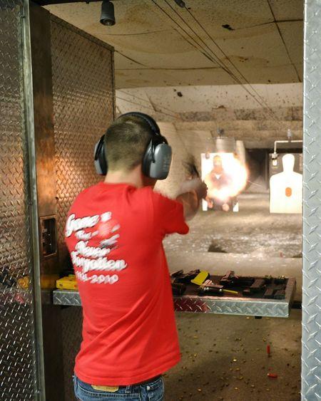 Target Shooting Perfect Timing Firearm Training Gun Range Proper Use Of Firarms