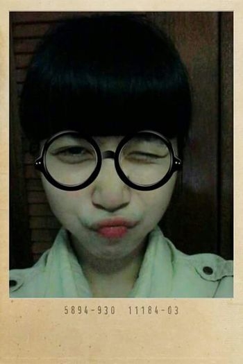 That's Me Vietnamesegirl Vietnamese Selfie Funny Faces Fools Redlips