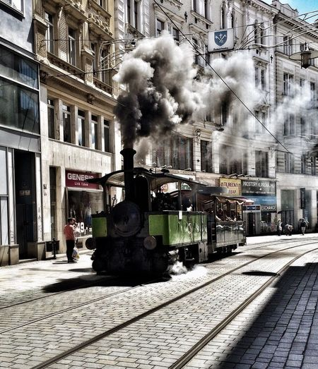 Train In City Oldtrain EyeEmNewHere Travel Traveling Art Is Everywhere The Street Photographer - 2017 EyeEm Awards The Great Outdoors - 2017 EyeEm Awards Adventures In The City