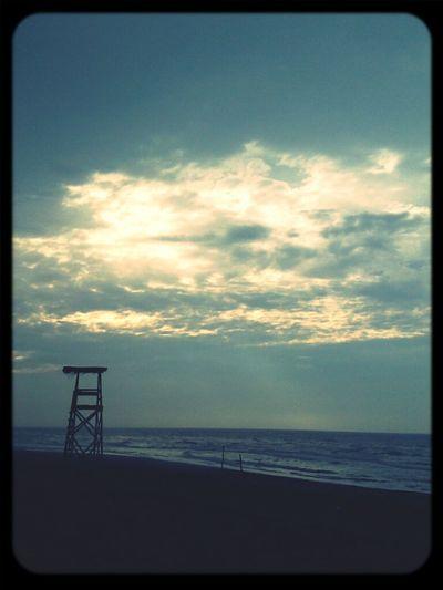 Hanging Out Beach Sky Ocean