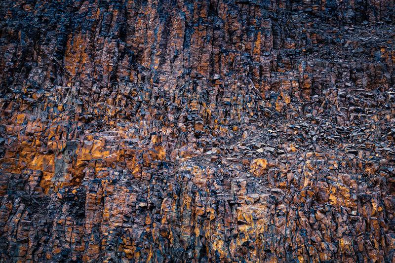 Full frame shot of rocks on water