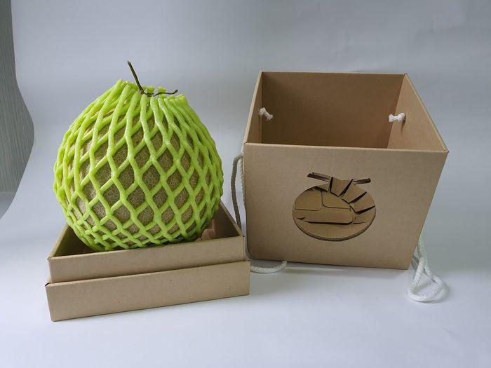 melon and box