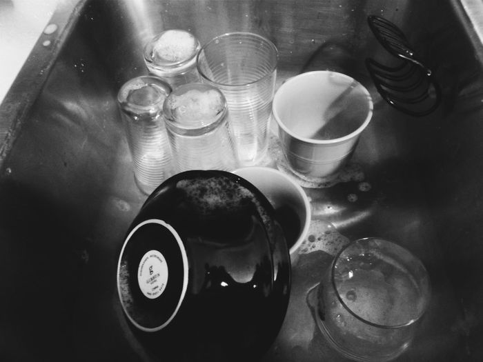 Jackson Michigan Dishes Dishware Black And White Black And White Photography Washing Dishes Sink Full Of Dishes