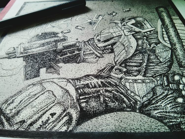 jugde dread .. ink My Drawing Art, Drawing, Creativity DrawSomething