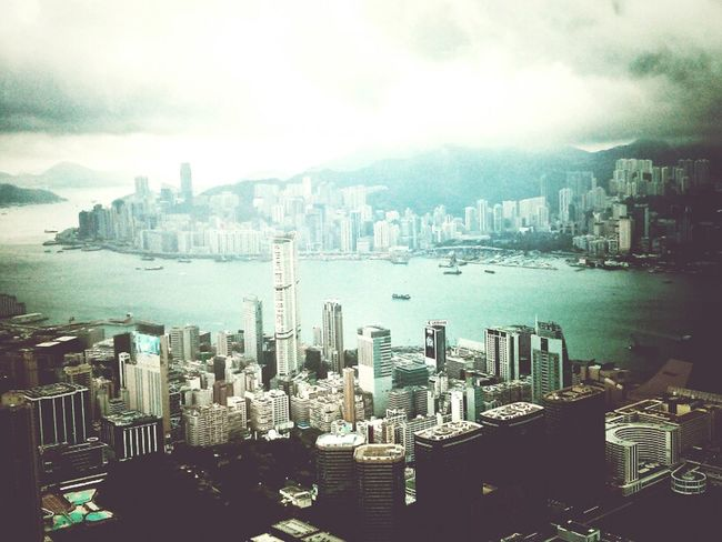 From Above  Z Goes Hongkong