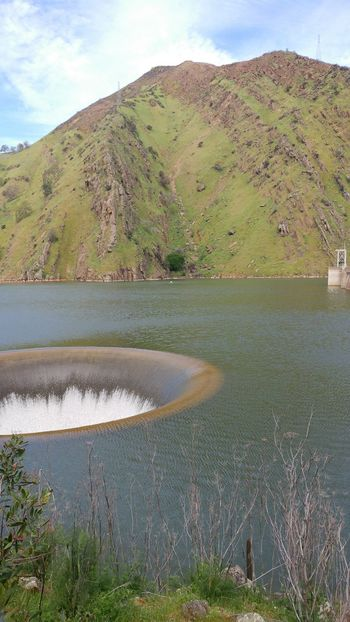 Landscape Lake Water Beauty In Nature Spillway