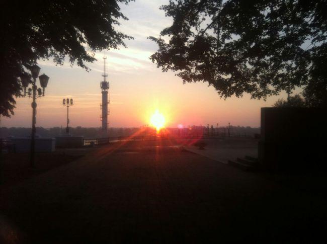 Sunrise Morning City