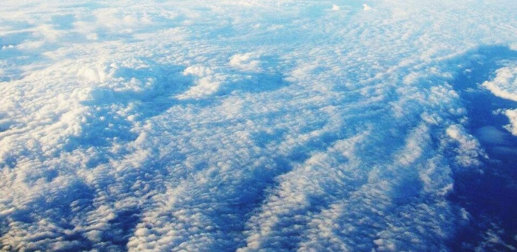 From An Airplane Window From The Plane Window Sky Sky And Clouds Clouds And Sky Clouds Blue And White In The Sky ☁️⛅️✈️