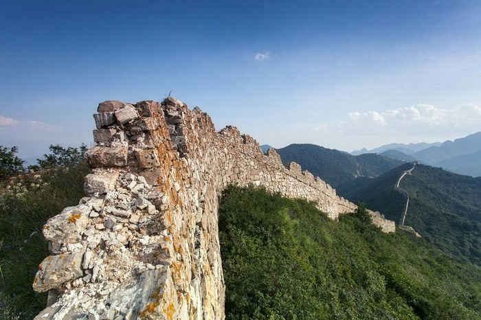 Greatwall China Photos Outdoor Life Blue Sky Landscape