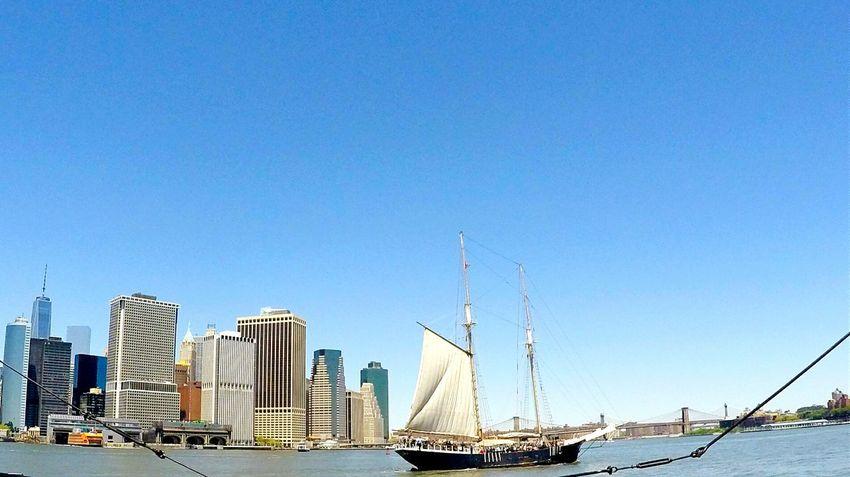 NYC Touristmode Brightweather Sailboatmeetsthecity