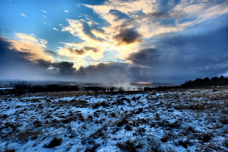 iceland Cloud -