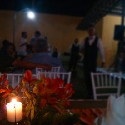 Disfrutando con mi gente bella en el matrimonio SanabriaMendoza