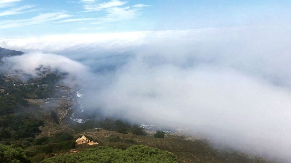 Mountain Sky Beauty In Nature Nature Reserve Outdoors Scenics Smoking - Activity Tangier