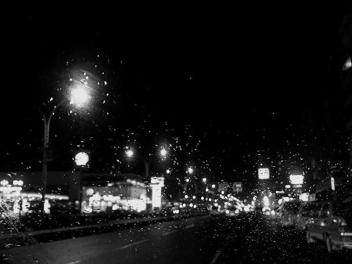 Yağmur-gece