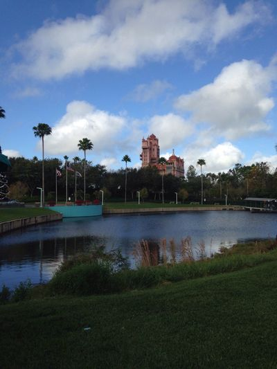Hello World Disney Disneyland Check This Out Photography View Lake View Sky