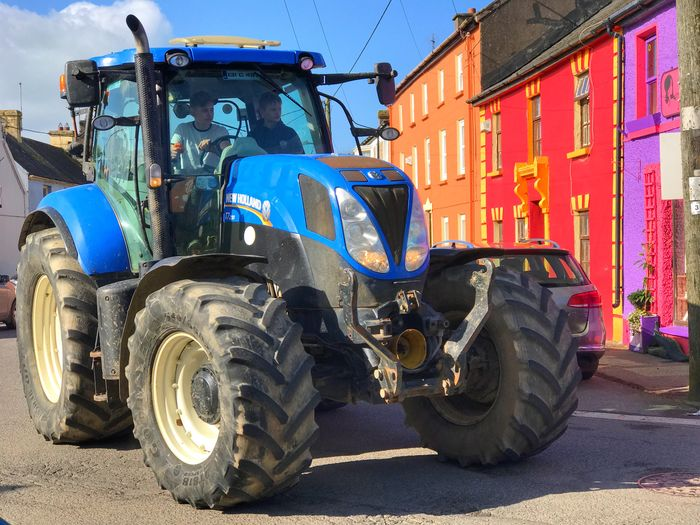 Land Vehicle Outdoors Tire Day Construction Vehicle No People Tractor Urban Versus Rural Farm Farm Life Farming Tractors Tractorporn Tractor Love Ireland