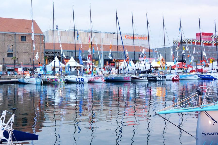 Les voiliers de Class 40 Jacques Vabre Transat Sailing Ship Sailing Race Le Havre Sport In The City