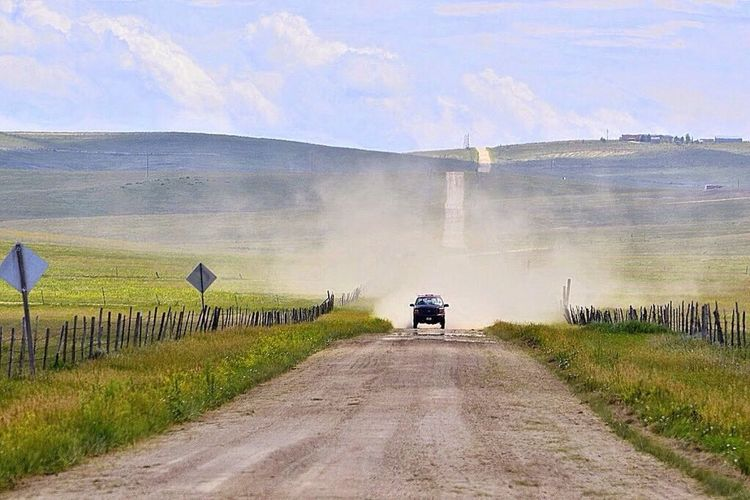 Country Road Prairie Plains Great Plains Ranch Land Colorado Road Transportation The Way Forward Real People Sky Day Rear View Outdoors Nature Rural Scene Cloud - Sky Landscape Men Scenics One Person Beauty In Nature People