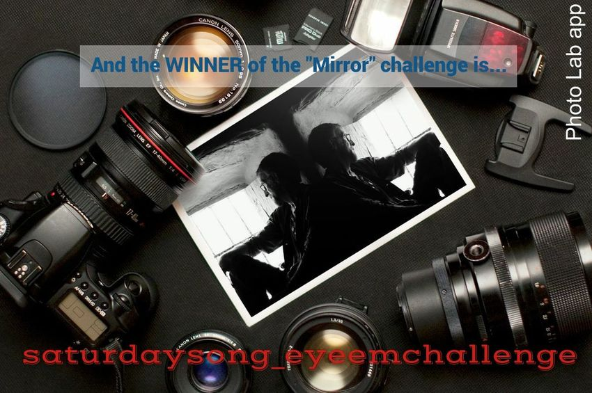 Challenge Saturdaysong_eyeemchallenge Saturdaysong_eyeemchallenge_rules Mirror ...and the winner is...Robin Fifield. I know he was the last host of the challenge but I really like th perfect use of light, shadows and simetry of his picture. Thank you all the partipants. It have been funny host the challenge this week.