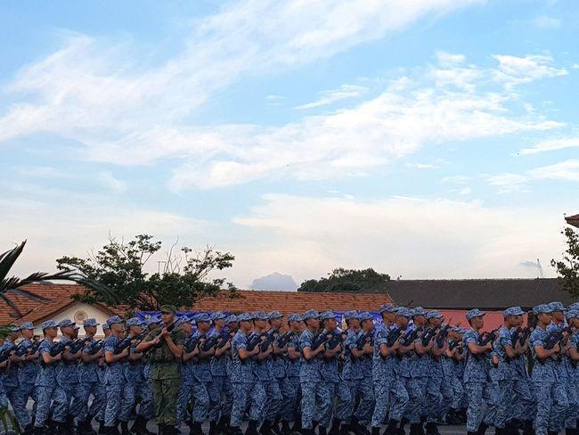 Sembawang Camp Passing Out Parade Graduation Parade Basic Military Training 7 Sept 2017 Singapore