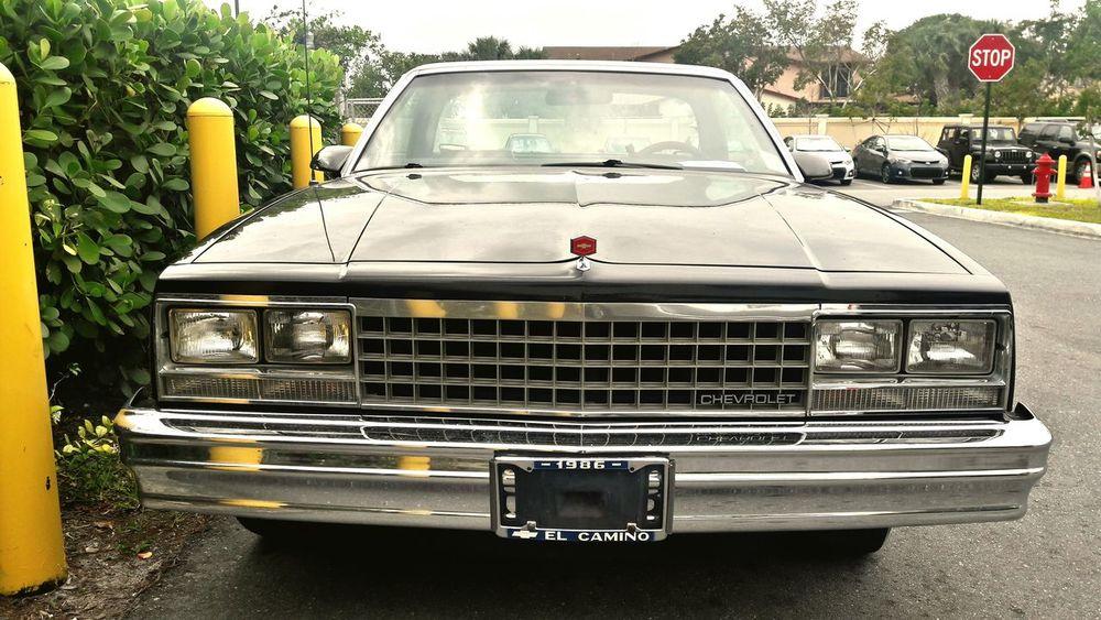 1986 Chevrolet El Camino Chevrolet Elcamino 1986chevy Chevroletelcamino