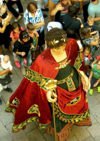 Gigante romano de la Ciudad de Lleida. No People Multi Colored Indoors  Day Close-up Gegants I Nanos Gegants Gigantes Lleida Lleidacity